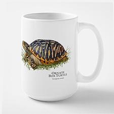 Ornate Box Turtle Large Mug