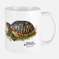 Ornate Box Turtle Small Small Mug