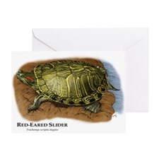 Red-Eared Slider Greeting Card