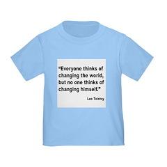 Tolstoy Change Quote T
