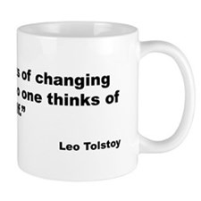 Tolstoy Change Quote Mug