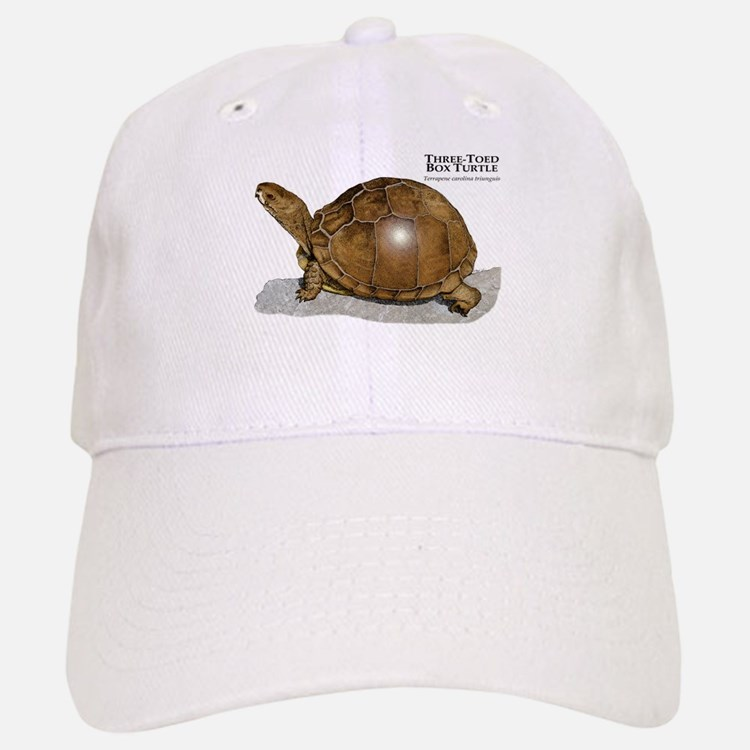 Three-Toed Box Turtle Baseball Baseball Cap