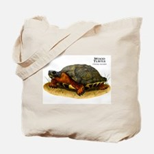 Wood Turtle Tote Bag