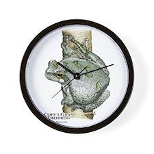 Cope's Gray Tree Frog Wall Clock