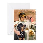 Cleopatra-Sammy/Libby Greeting Card