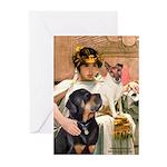 Cleopatra-Sammy/Libby Greeting Cards (Pk of 20)