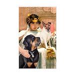 Cleopatra-Sammy/Libby Rectangle Sticker