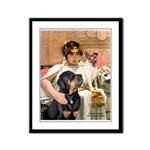 Cleopatra-Sammy/Libby Framed Panel Print