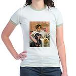 Cleopatra-Sammy/Libby Jr. Ringer T-Shirt