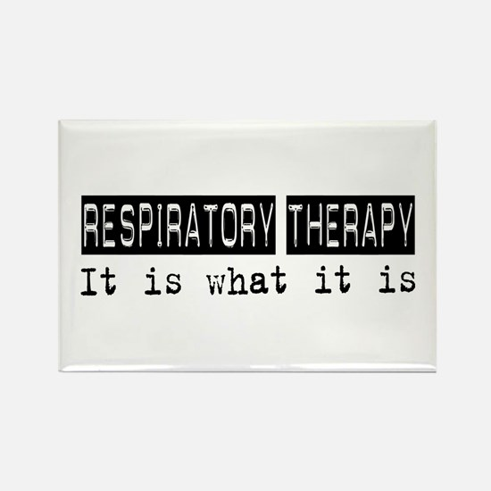 Respiratory Therapy Is Rectangle Magnet