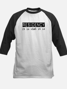 Residency Is Kids Baseball Jersey