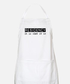 Residency Is BBQ Apron