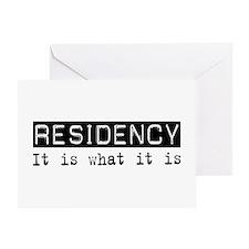 Residency Is Greeting Card