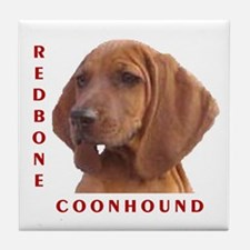Redbones Tile Coaster