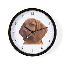 Redbones Wall Clock