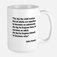 Adult Forgiveness Quote Mug