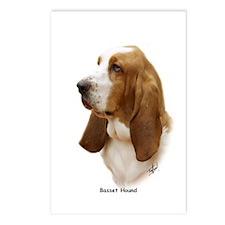Basset Hound 9J055D-15 Postcards (Package of 8)