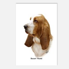 Basset Hound 9J055D-15 Postcards (Package of 8)