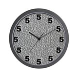 5 o'clock Wall Clocks