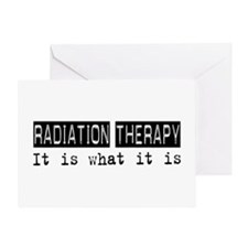 Radiation Therapy Is Greeting Card