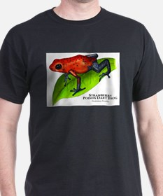 Strawberry Poison Dart Frog T-Shirt
