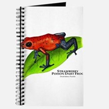 Strawberry Poison Dart Frog Journal