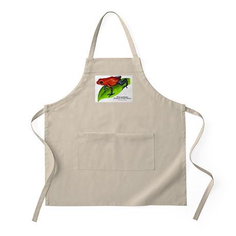 Strawberry Poison Dart Frog BBQ Apron