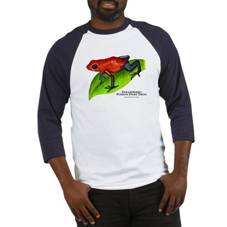 Strawberry Poison Dart Frog Baseball Jersey