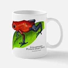 Strawberry Poison Dart Frog Mug
