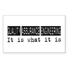 Quality Assurance Engineering Is Decal