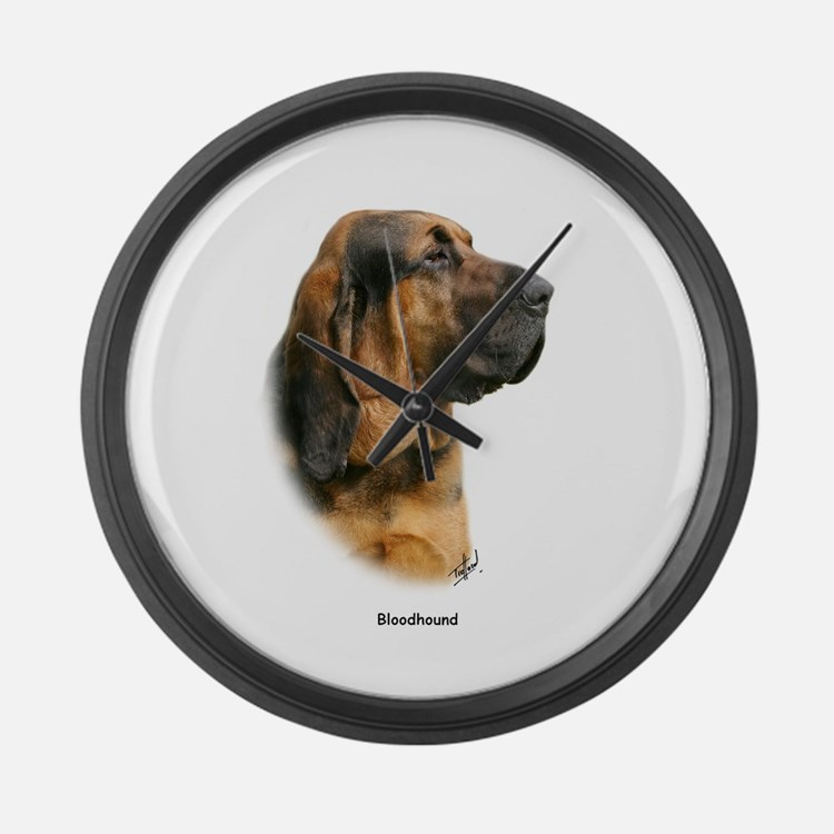 Bloodhound 9Y404D-124 Large Wall Clock