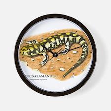 Tiger Salamander Wall Clock