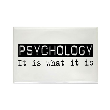 Psychology Is Rectangle Magnet (10 pack)