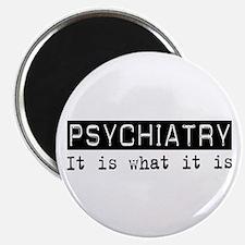 """Psychiatry Is 2.25"""" Magnet (100 pack)"""