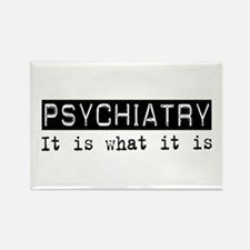Psychiatry Is Rectangle Magnet (100 pack)