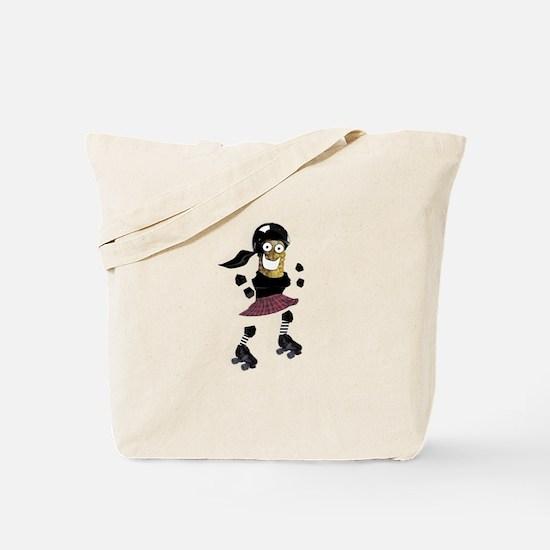 Roller Derby Pickle Tote Bag