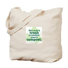 One Man's Trash Tote Bag