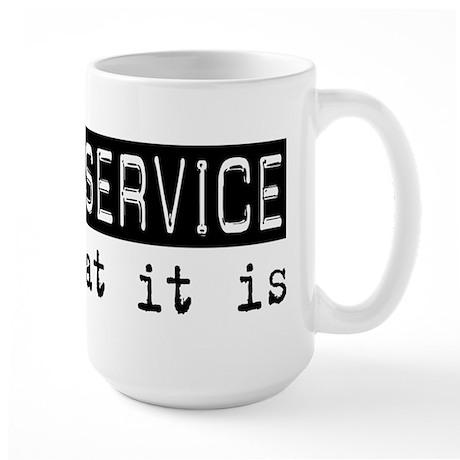 Postal Service Is Large Mug