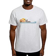 Surf Wisconsin Tan T-Shirt