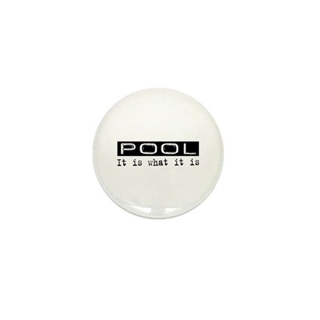 Pool Is Mini Button (100 pack)