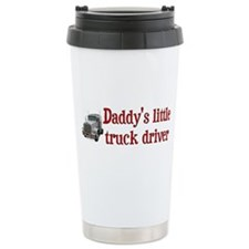 Little Truck Driver Travel Coffee Mug