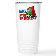 Dad's Little Trucker Travel Mug