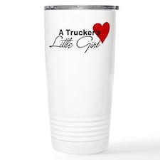 Trucker's Little Girl Travel Mug
