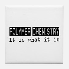 Polymer Chemistry Is Tile Coaster