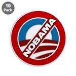 "NOBAMA 3.5"" Button (10 pack)"