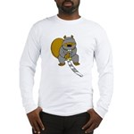 Ninja Beaver Long Sleeve T-Shirt