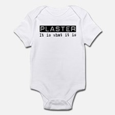 Plaster Is Infant Bodysuit