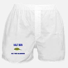 Half Man Half Tiger Salamander Boxer Shorts