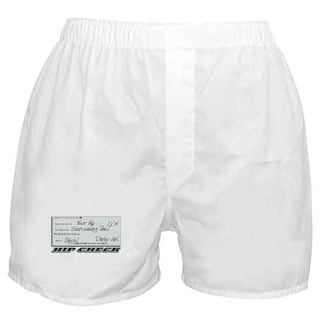 Hip Check Boxer Shorts