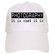 Photography Is Baseball Cap